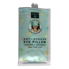 Earth Therapeutics MindBody Therapy AntiStress Eye Pillow Lavender  Chamomile 1 pillow *** Details can be found by clicking on the image.