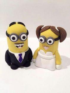 Despicable me Wedding cake :)) love it!!!