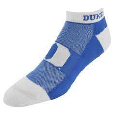 Women's Duke Blue Devils Spirit No-Show Socks