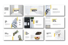 Ad: Width Minimal Keynote Template by onestudio on FEATURES : --- - images Placeholder - Made with Slidemaster ( Just Drag & Drop your Image ) - Drag And Drop image - Theme Colour Option, Ppt Template Design, Ppt Design, Keynote Template, Deck Design, Modern Powerpoint Design, Creative Powerpoint, Keynote Design, Image Theme, Minimal Web Design