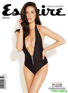 Oliva Munn Esquire Mexico Febrero 2015 | FamosasMex