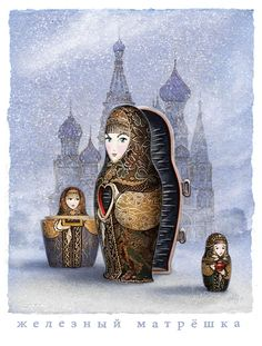 """For Month of Fear: Hollow """"Matryoshka"""" means """"little Matron"""" and it's the item most Western tourists associate with Russia - as seen in the hideous Tourist trap 'giftshop' our St. Petersburg guide was paid to lead her flock into. I had anticipated a gorgeous city filled with old-World charm, but what we found there was almost entirely without charm. Completely unlike the delightful cities nearby (Riga, Tallinn, and Helsinki) St. Petersburg proved a hollow disappointment - filled with too-big…"""