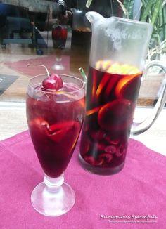 Red Cherry Rosemary Sangria