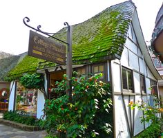 fairytale cottages | ... new book carmel s fairy tale cottages that was signed by the author