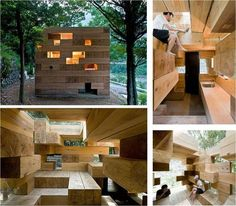 Final Wooden House by Sou Fujimoto Architects is based in Japan ...