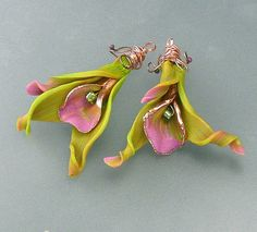 Love!! ... Stunning pendants or earrings by maldora