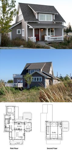 Ross Chapin Architects - Songbird Cottage :: 1599 sq. ft.