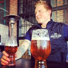 Our brewmaster Jonas enjoying a Eclipse IIPA he brewed with Wine Craft, Craft Beer, Beer Industry, World Crafts, Jack Black, Brewing Co, Fine Wine, Alcoholic Drinks, Photo And Video
