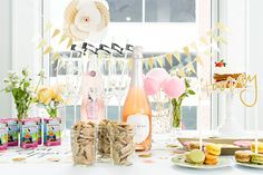 Host A Champagne and Juice Box Party!! www.endlesslyelated.com