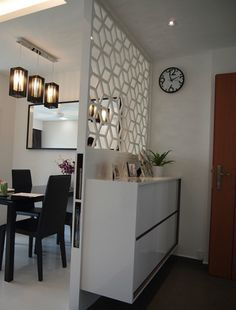 living room divider singapore - Google Search