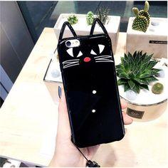 2016 neu Sailor Moon Silikon Handyhülle für Iphone6/6plus/7/7plus mit süße Katze Muster