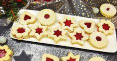 Krehulinké a veľmi jemné pečivo, po naplnení ihneď mäkkučké. Tieto koláčiky úplne zbožňujem a neviem sa ich dojesť, pretože mi najv... Christmas Candy, Christmas Baking, Christmas Cookies, Christmas Recipes, Xmas Food, Gingerbread Cookies, Meals, Desserts, Travel