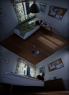 Impossible Room Optical Illusion - http://www.moillusions.com/impossible-room-optical-illusion/
