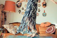 DIY robe à franges