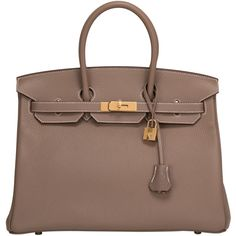 how much is a birkin bag - Glycine Leather Birkin 35cm Gold Hardware Tote Bag