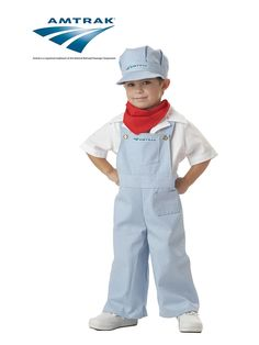 Train Engineer Toddler Costume! See more #costume ideas for Halloween and more at CostumeSuperCenter.com