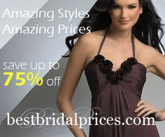 Save on your wedding Dress all sizes  http://www.planetgoldilocks.com/weddingsupplies.htm