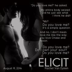 Elicit by Rachel Van Dyken August 11th