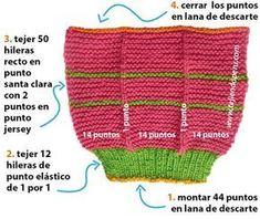 Monederos a Crochet en punto maravilloso arcoris para cojines cobijas mantas - Crochet Scoodie Knitted Slippers, Knit Mittens, Knitted Gloves, Knitting Socks, Knitting Stitches, Knitting Designs, Knitting Patterns, Crochet Patterns, Crochet Girls