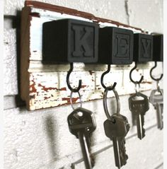 CLEVER IDEA FOR KEY HOLDER