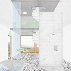 These 6 Firms Are Spearheading the Post-Digital Drawing Craze in Mexico,© Juan Benavides Architecture 101, Architecture Drawings, School Architecture, Architecture Diagrams, Architecture Graphics, Architecture Visualization, Interior Design Renderings, Section Drawing, Collage Drawing