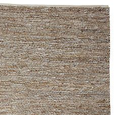 Metallic Suede and Hemp Rug from Serena and Lilly $295-$695
