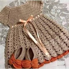 Crochet Baby Girl Crochet Child Gown Free Patterns: Find out how to crochet costume free patterns for infants with graphic Crochet Baby Dress Crochet Baby Dress Free Pattern, Crochet Bebe, Baby Girl Crochet, Crochet Baby Clothes, Crochet For Kids, Knit Crochet, Crochet Dresses, Crochet Summer, Crochet Shoes