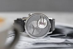 Armin Strom - Tribute 1 | Time and Watches | The watch blog Apple Watch 1, Watch Blog, Hand Watch, Elegant Watches, High Jewelry, Armin, Sport Watches, Calf Leather, White Gold