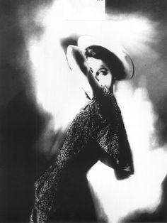 Barbara Mullen photographed by Lillian Bassman in Harper's Bazaar, 1949