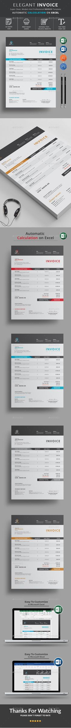 Invoice Like A Pro Design Examples and Best Practices Ui design - use of an invoice