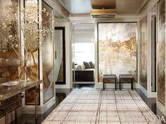 Glittering Heights: Victoria Hagan's NYC Apartment