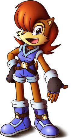 Sally Acorn Chibi by on DeviantArt Game Sonic, Sonic Art, Sally Acorn, Female Characters, Disney Characters, Sonic Heroes, Comic Character, New Outfits, Tigger
