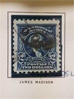 2 US Stamps - #'s 479 & 480 Retro Kitchen Tables, Anniversary Clock, Stamp Auctions, Louisiana Purchase, James Madison, Waterford Crystal, Kewpie, Funko Pop Figures, Antique Photos