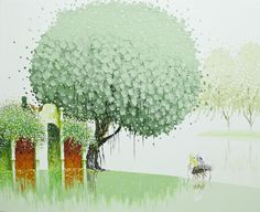 Vietnamese artist Phan Thu Trang's clean and simple style.