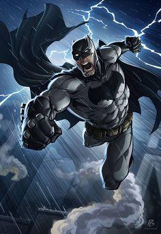 Batman by Artwork of Patrick Brown