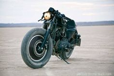 Harley-Davidson Sportster by Roland Sands. A commission to build a concept bike for a DJ equipment maker sounds like a recipe for disaster, but Roland Sands pulled it off in spectacular fashion. Harley Davidson Sportster, Custom Sportster, Custom Harleys, Vintage Motorcycles, Custom Motorcycles, Custom Bikes, Honda Motorcycles, Bobbers, Choppers