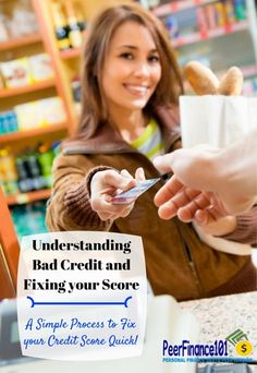 Understanding the #credit score factors that lead to bad #debt and how to fix your credit score fast! It's never too late to improve your credit score.