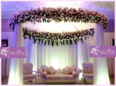 Stunning wedding stage decorations for christians in kerala flower ring junglespirit Gallery