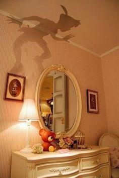 Peter Pan wall decor