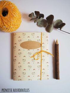 """Handmade notebook: """"Unicorn"""""""
