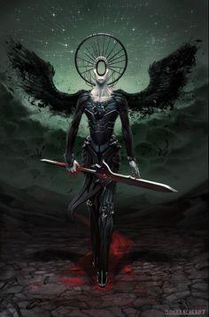 Angel of Vengenace | Angelarium - Series 2 on Behance