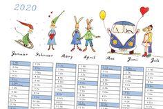 Wichtel & Friends 2020 Jahresplaner and-Planer - Kalender - 2020 Jahresplaner - monatlicher Kalender - Wochenplaner - Geburtstagskalender Illustration, Map, Friends, Etsy, Graphic Prints, Craft Gifts, Amigos, Location Map, Illustrations