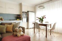 חצויה: עיצוב דירה שחולקה לשניים ברחובות   בניין ודיור
