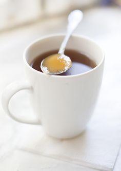 tea with honey <3