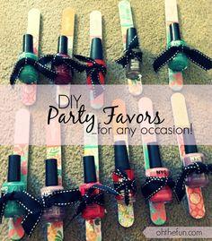 DIY Party Favors