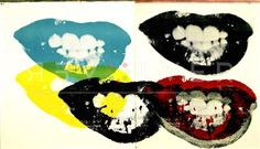 I Love Your Kiss Forever (FS II.5) by Andy Warhol