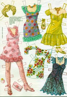 inkspired musings*1500 free paper dolls for Christmas at The International Paper Doll Society and also free Asian paper dolls at The China Adventures of Arielle Gabriel *