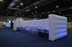 Inflatable Cube Booths for Corporate Events via http://www.brandinteractivation.com/ | #eventprofs www.MonasEventDosAndDonts.com/blog | Corporate Event Planning & Blog