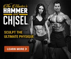 Ready for the best at home workout? Developed by 2 of the best professional trainers to get you ripped. See why you should buy Master Hammer and Chisel here.