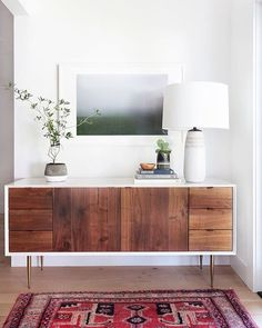 Yet another stunning, Californian mid-century delight created by the brilliant @amberinteriors. Stalking is a strong word...I consider myself a keen follower! x |  via mixandchic.com